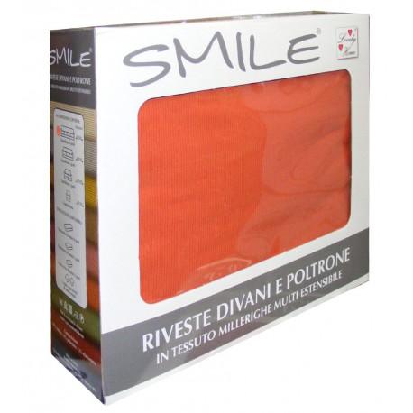 COPRIDIVANO SMILE 3 POSTI ARANCIO