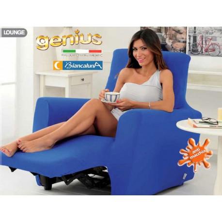 Bordeaux Biancaluna Copripoltrona per Poltrone Reclinabili Relax Genius Lounge Copridivano 1 Posto