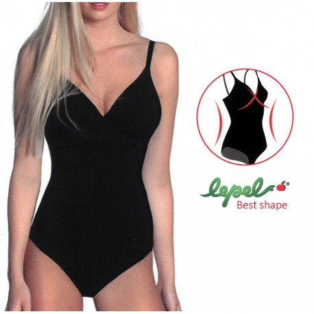 BODY EFFETTO INCROCIO BEST SHAPE 2665-C LEPEL