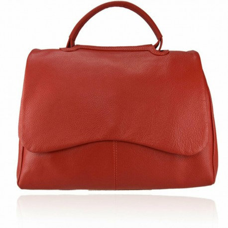 BORSA A MANO DONNA VERA PELLE MADE IN ITALY  OC59865 MERCURY VARI COLORI