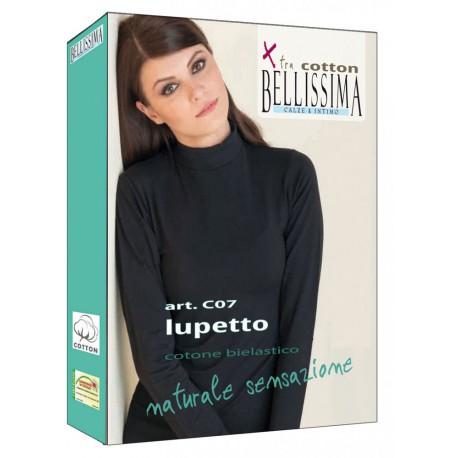 MAGLIA DONNA LUPETTO C07 XTRA COTTON BELLISSIMA