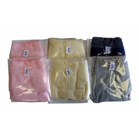Laiole Confezione 6 Pezzi Slip Donna 100/% Cotone SGAMBATO 222